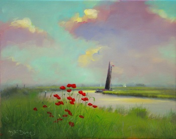 British Artist DF Dane - Remembrance