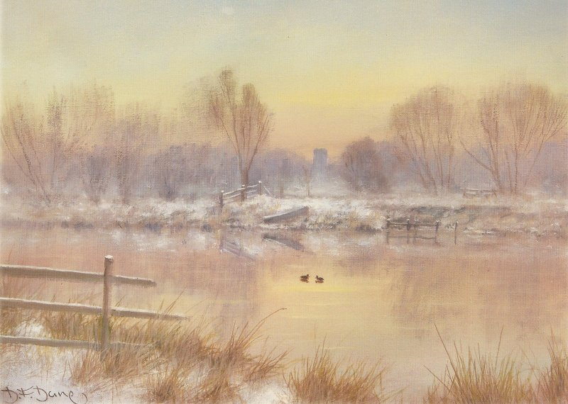 Winter Sunrise - The Bure at Lamas