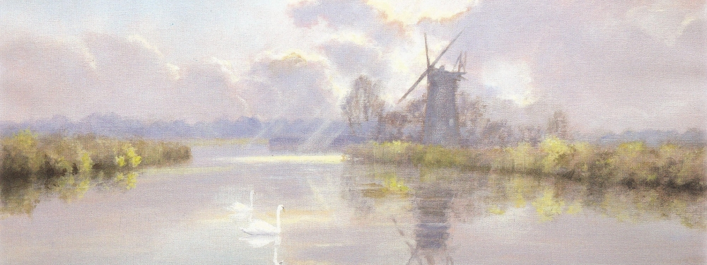 David Dane has been painting the Norfolk Broads for over 40 years