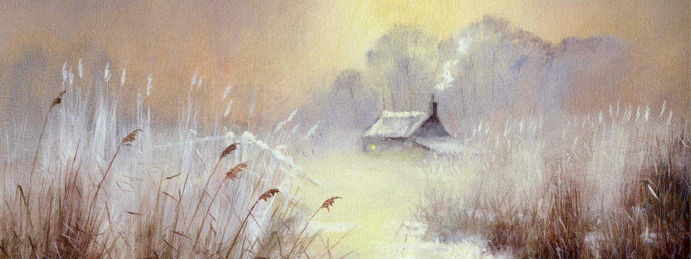 Christmas prints of Winter scenes by DF Dane