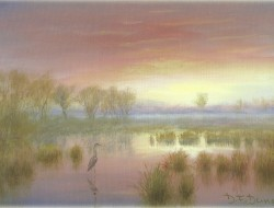 Autumn Sunset Sutton Fen