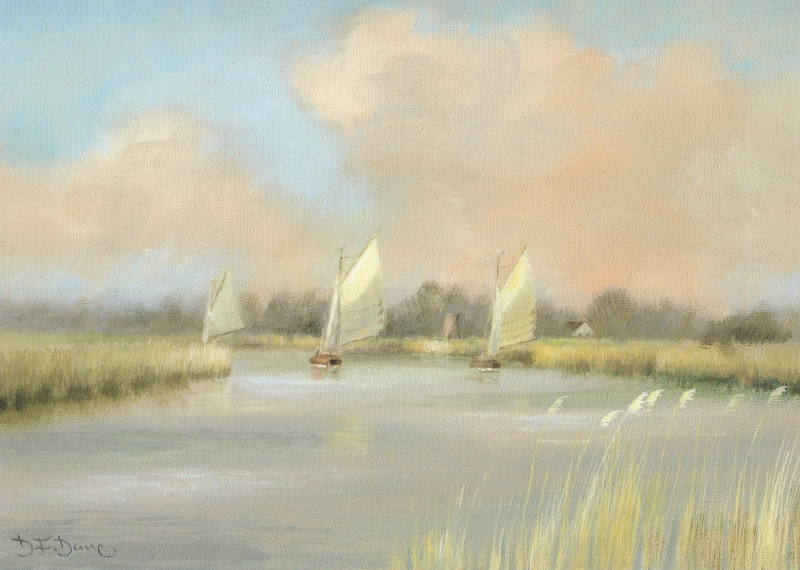 Early Spring on the Thurne