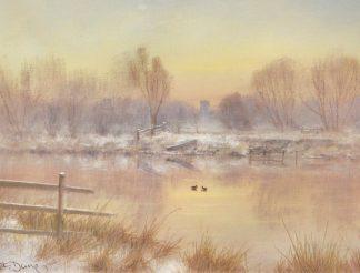 Winter Sunrise - The Bure at Lamas