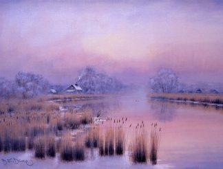 Winter Morning - Horsefen Mill Cottage