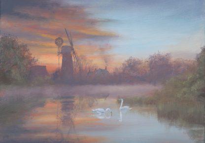 Daybreak Hunsett Mill