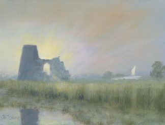 Sunrise St Benets Abbey